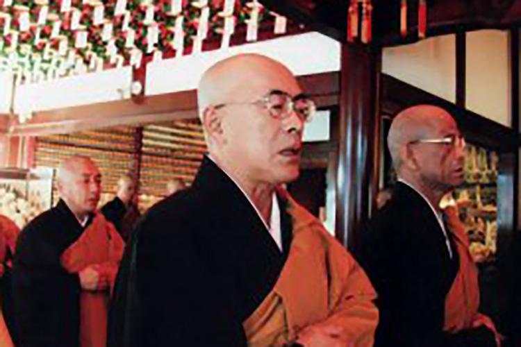 妙円寺の僧侶