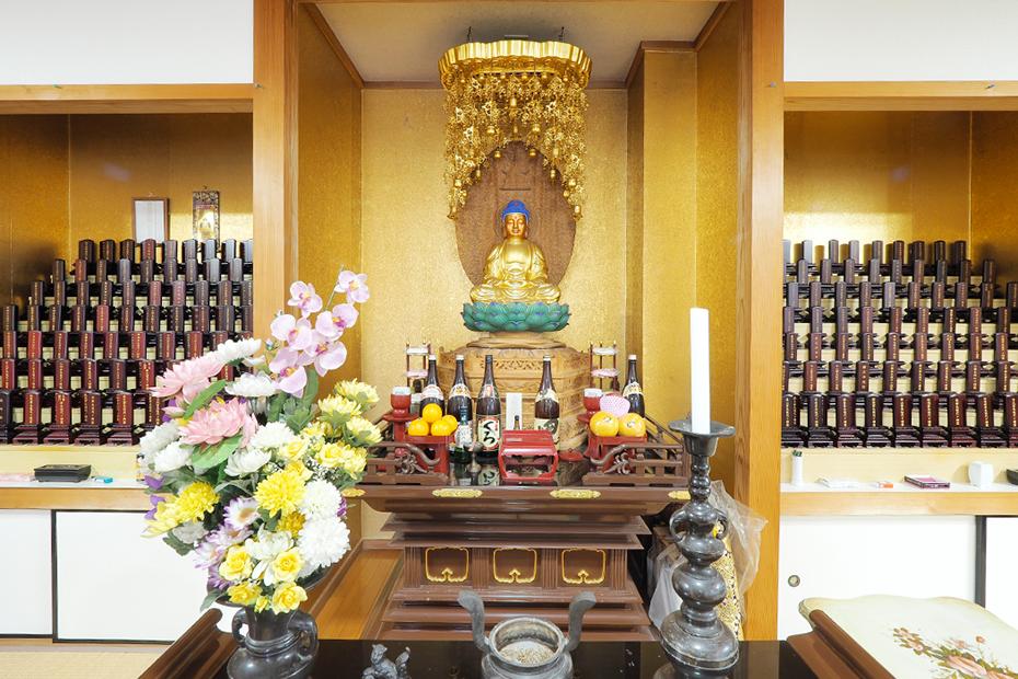武霊廟の本堂