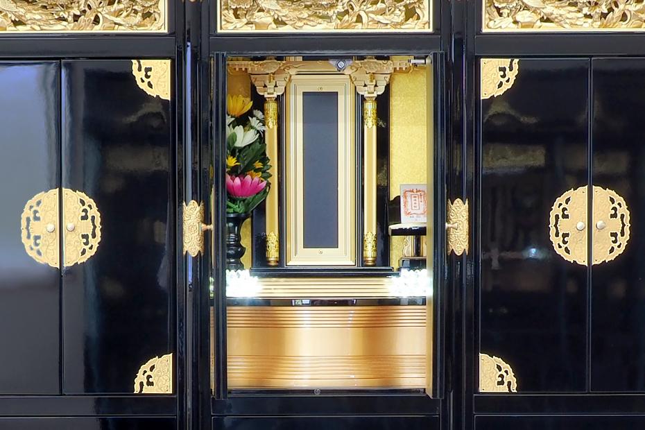 納骨壇きくの仏壇部分