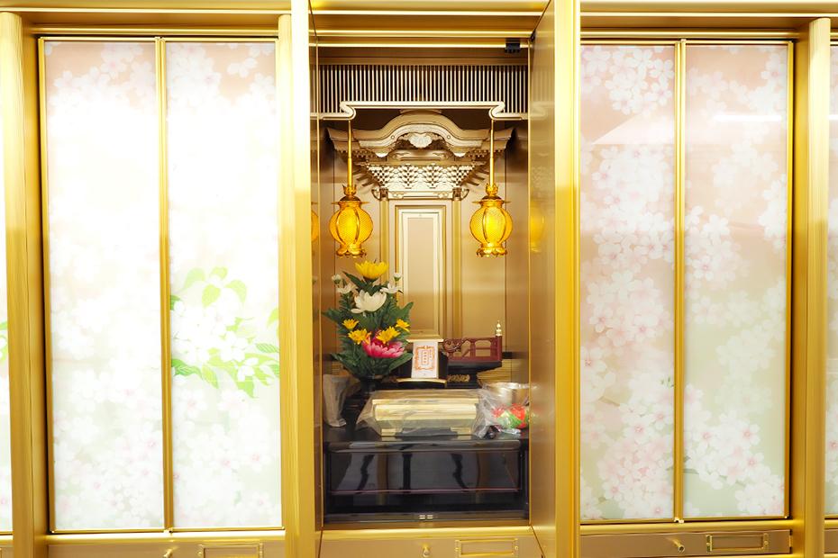 納骨壇花園の仏壇部分