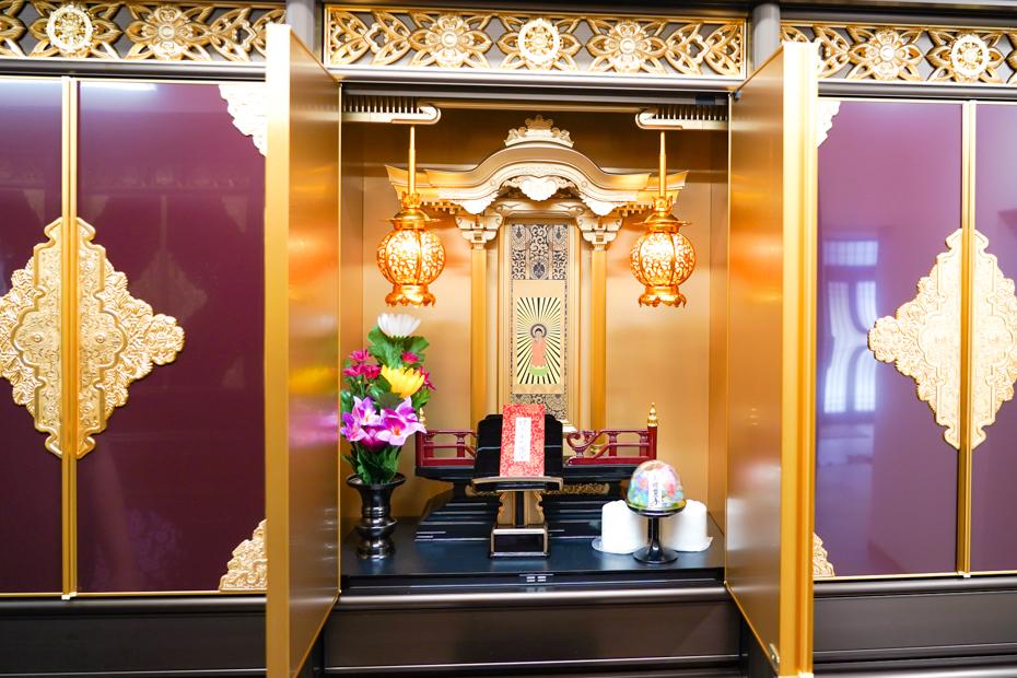 武霊廟の納骨壇さくら